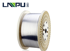 Polyester/polyimide film covered wire